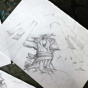 ArtGallery_Sketch02